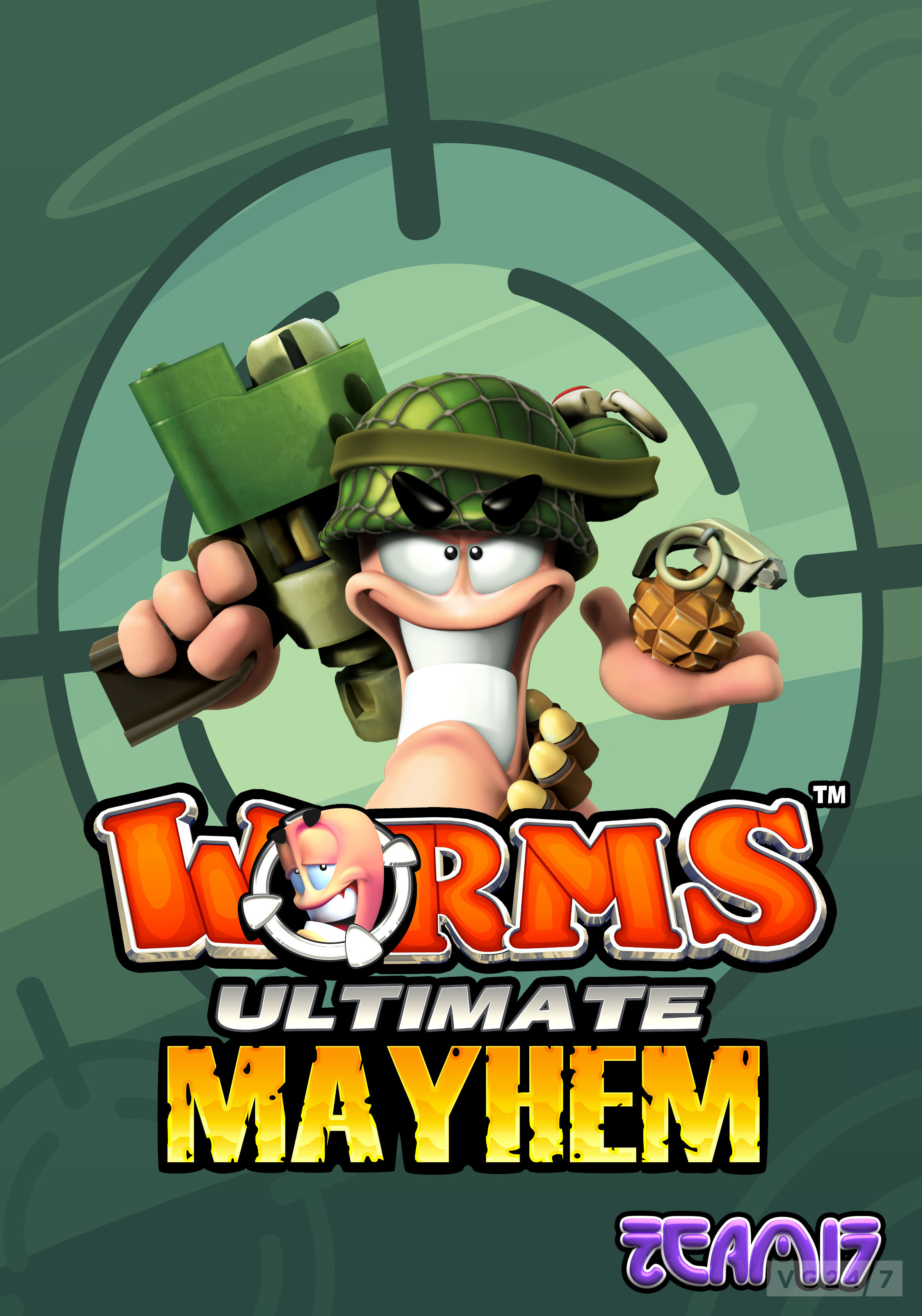 how to play worms ultimate mayhem over hamachi